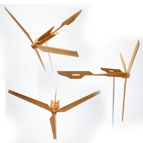 Wooden Wind Turbine