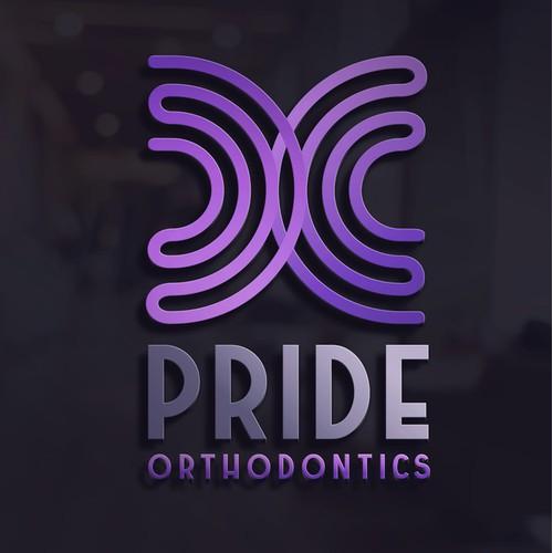 Eye-catching & chic logo for modern orthodontic practice in Austin, TX.
