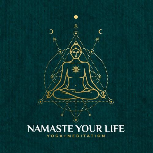 Logo for 'Namaste Your Life'