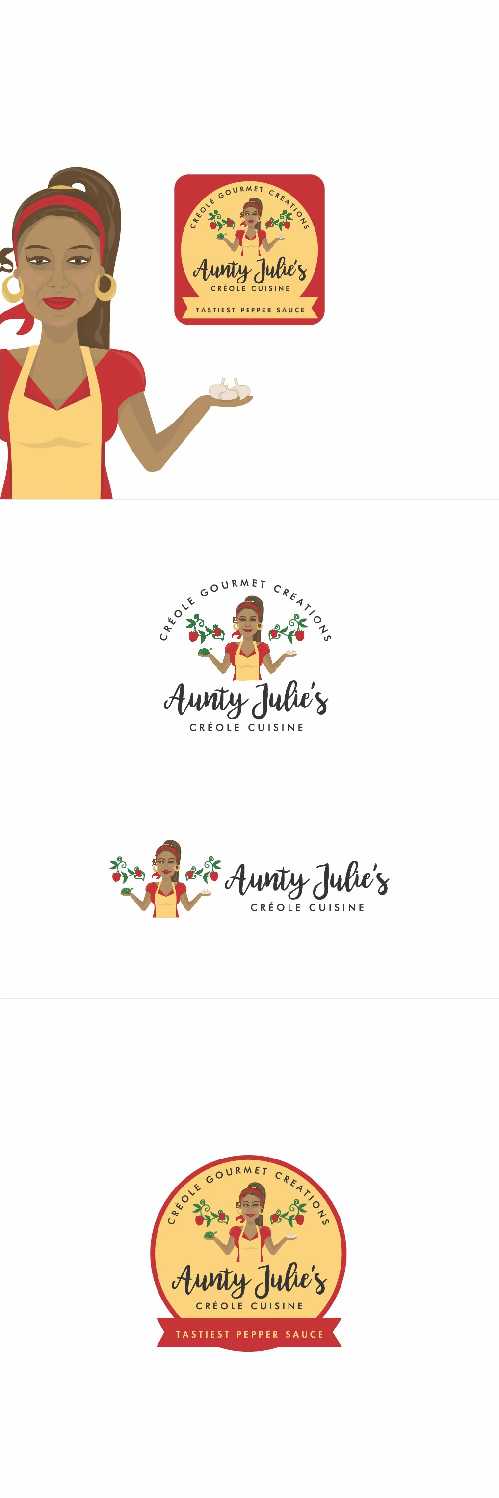 Design and/or Create a logo for my food business that stands out