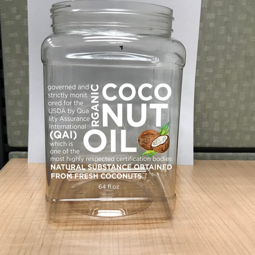 Label design for a Oil Jar