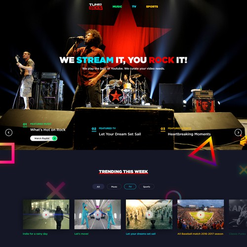 Web Design for a Cool Video Streaming Site