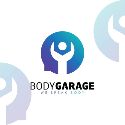 Logo concept for BodyGarage.