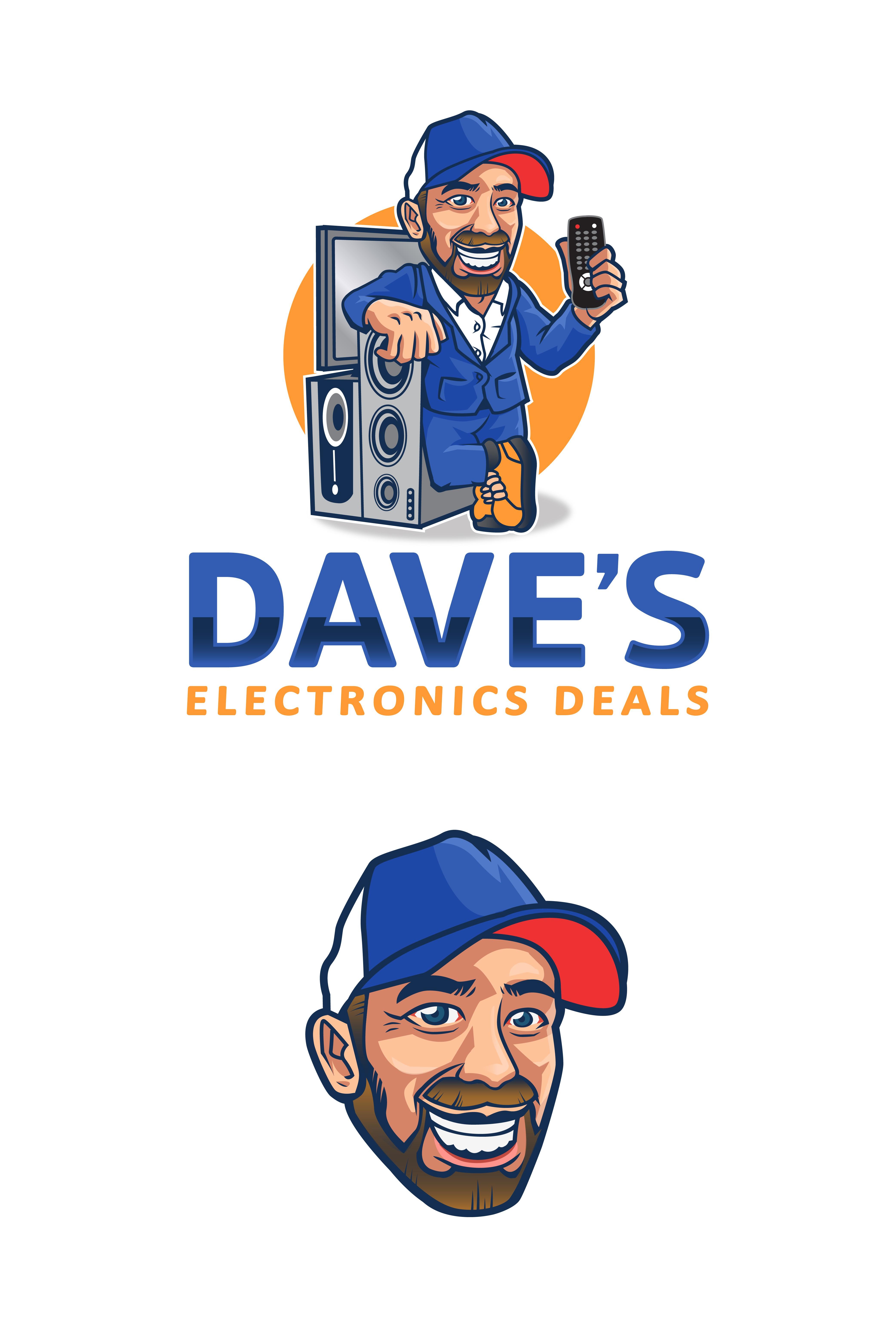 Design a Retro Logo For Electronics Outlet
