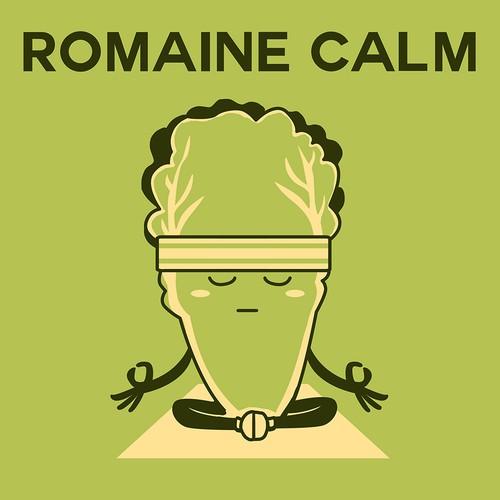 Food Pun Romaine