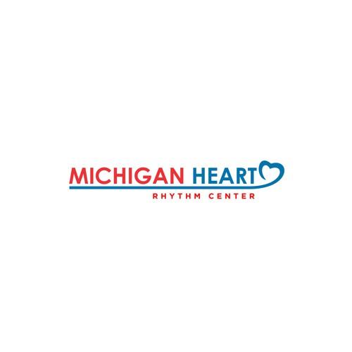 Michigan Heart Logo Design
