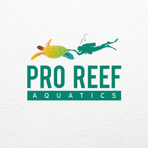 Bold logo concept for Aquarium