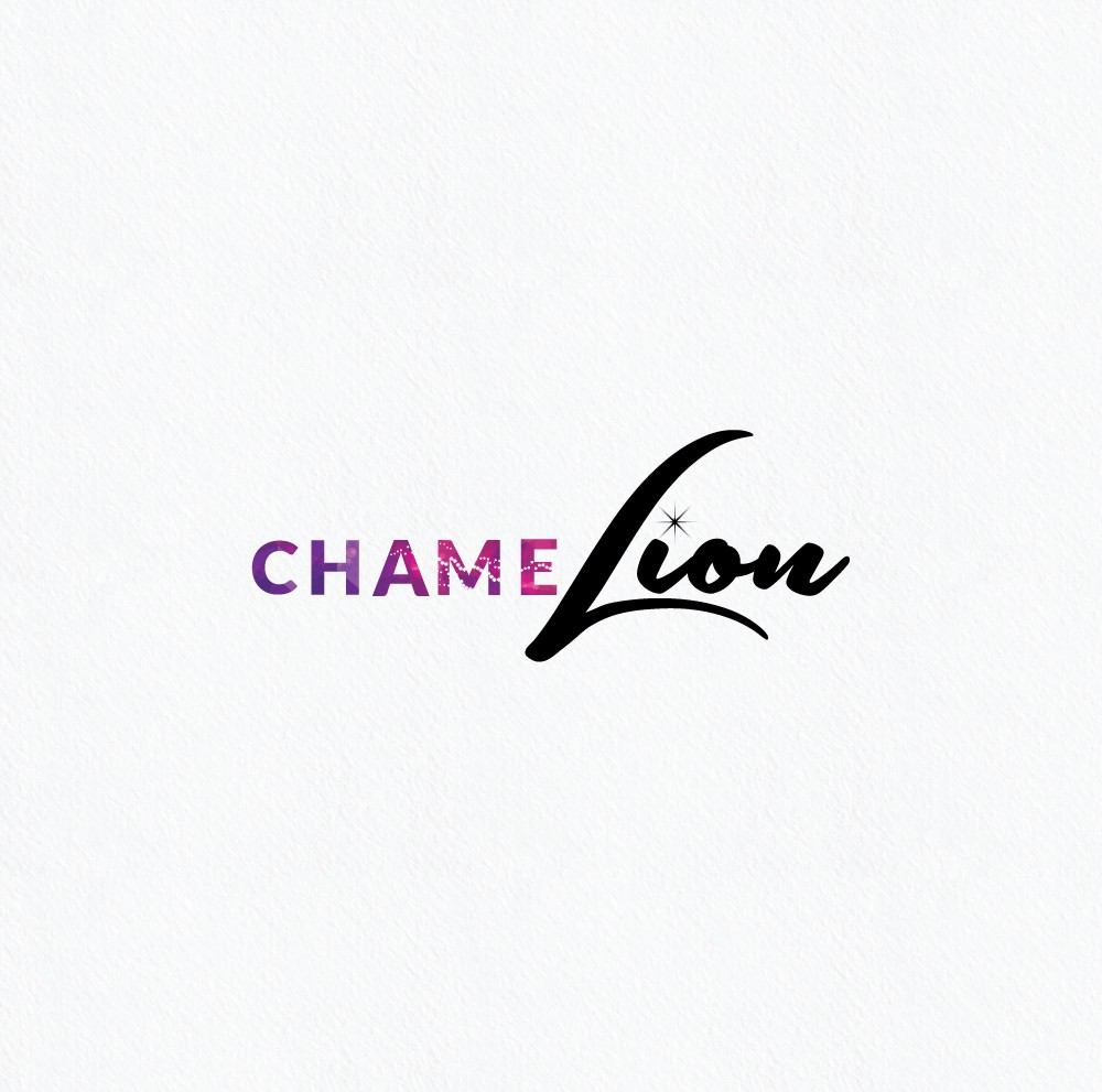 Create a logo for an innovative, female driven lifestyle brand, chamelion