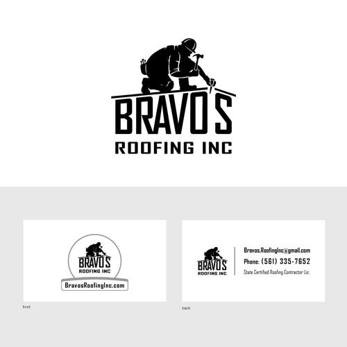 logo roofing company