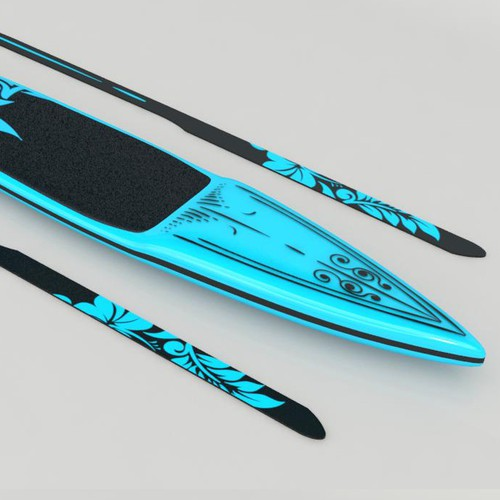 Paddle board design