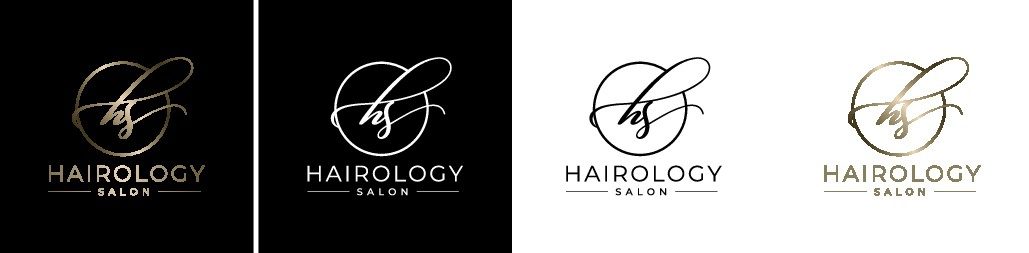 Design a upscale logo for hair salon