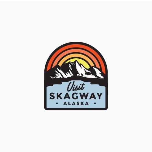 Skagway Alaska Tourisim department logo