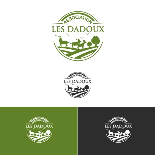 Logo association les dadoux