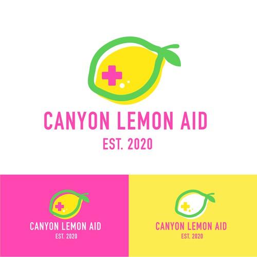 Logo design for Canyon Lemon Aid