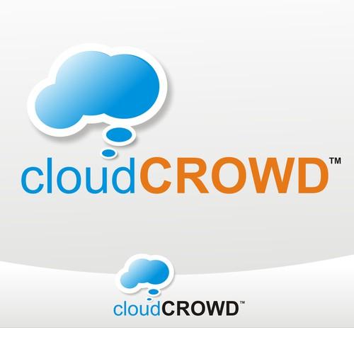 "Logo Design for ""CloudCrowd"""