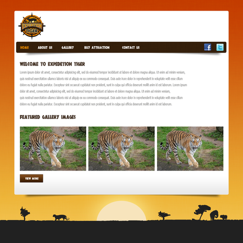 Help Expedition Tiger with a new website design