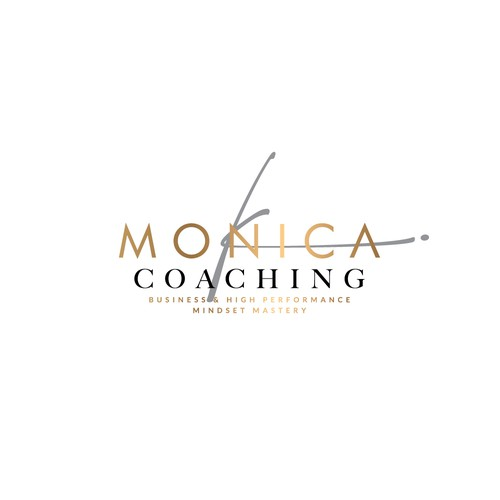 Gender neutral logo for business and mindset coach.