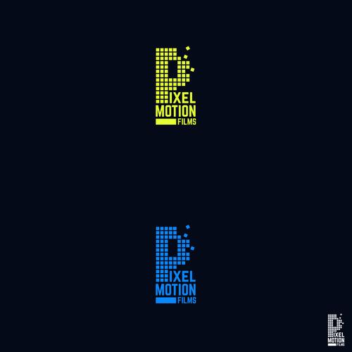 Pixel Motion Logo