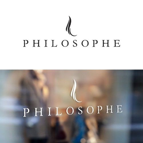 Artistic and contemporary logo with an 18th century twist