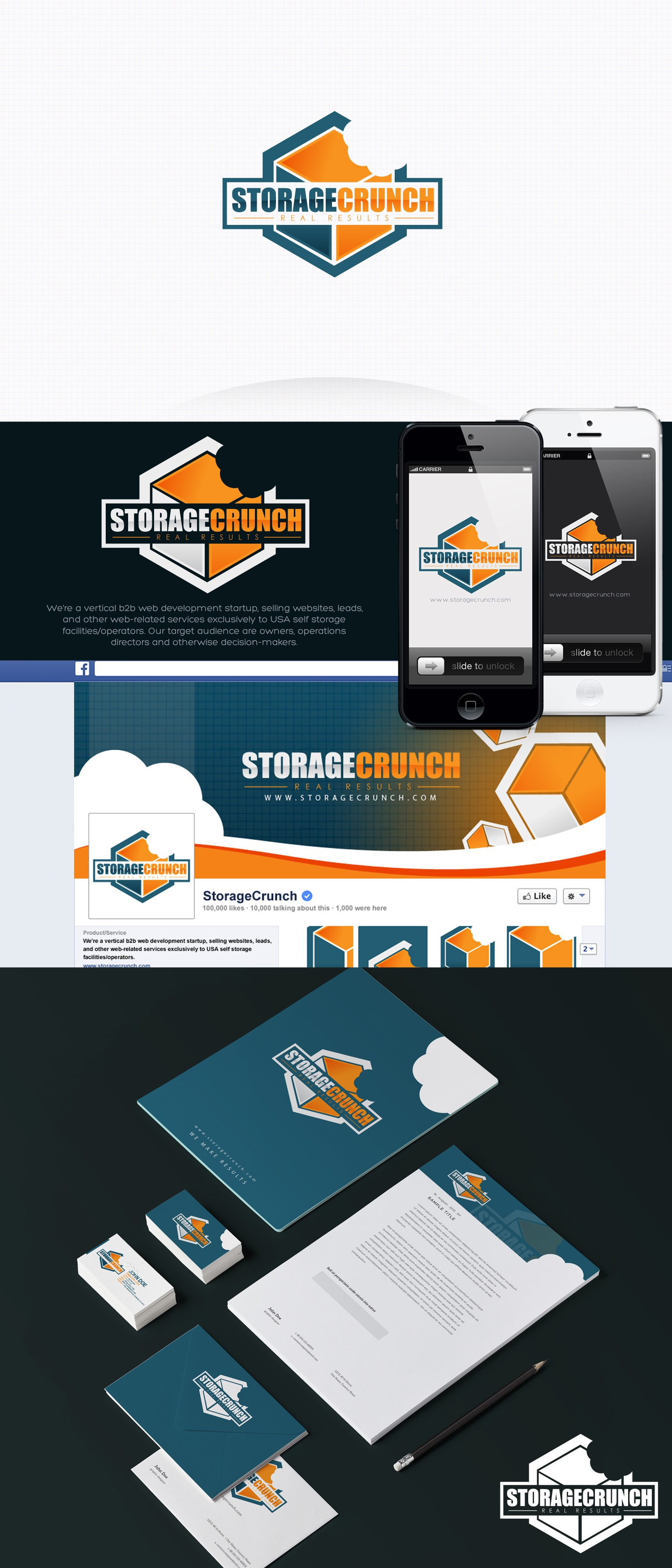 Create Logo/Brand Identity for new startup web development company - self storage vertical b2b.