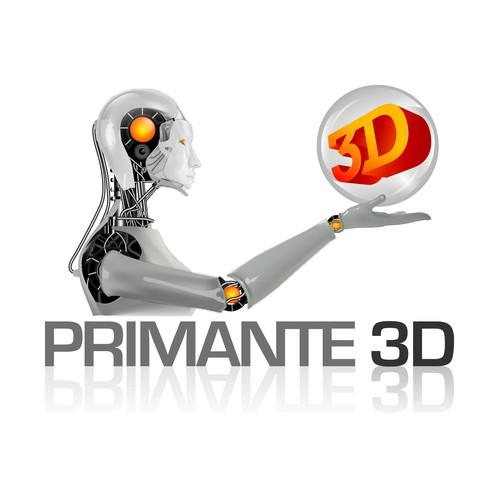 Créer un logo moderne et original pour un site sur l'impression 3D
