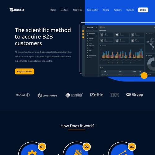Bent.io Website Redesign