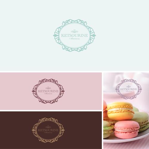 logo for Ketsourine Macarons
