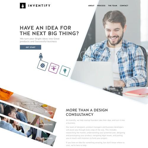 Design Consultancy Inc. webpage