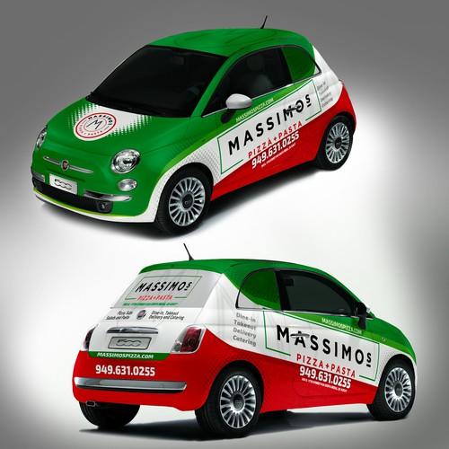 FIAT 500 Wrap Design