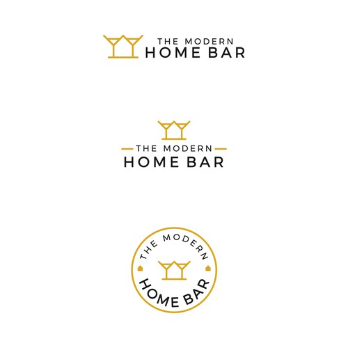 The Modern Home Bar