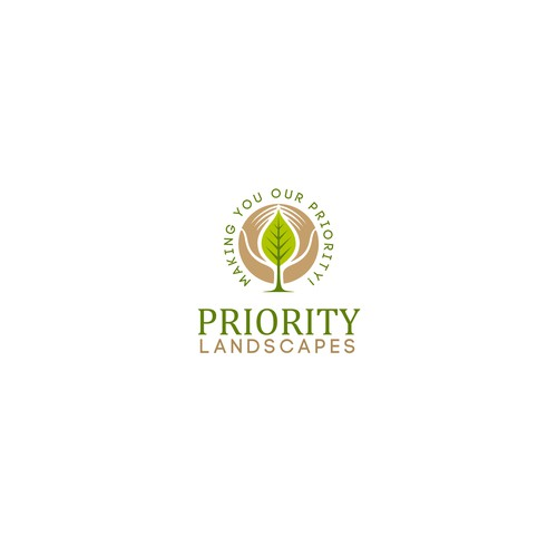 Logo concept for Priority Landscape