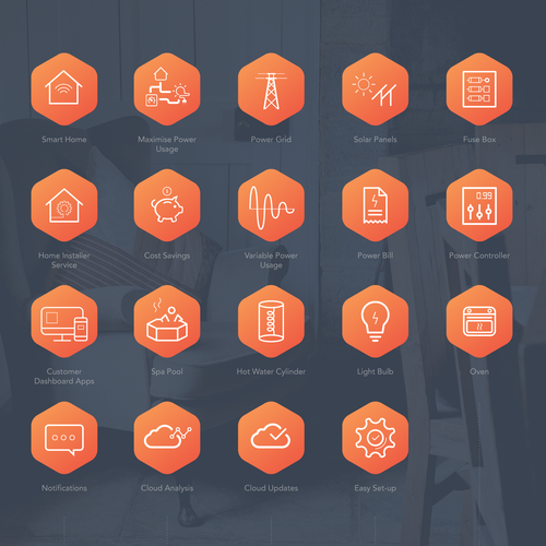 Smart Home Icon Set