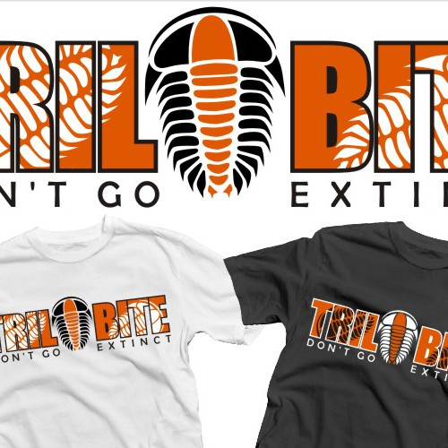 Trilobite needs a new t-shirt design