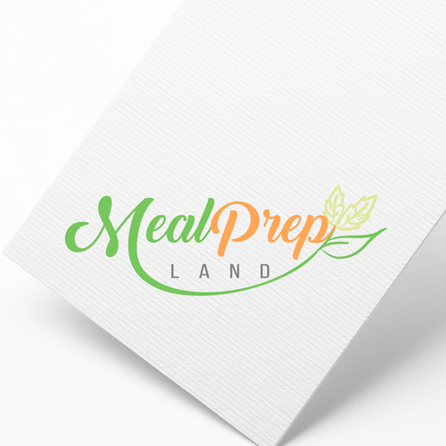 logo design concept for healty food company