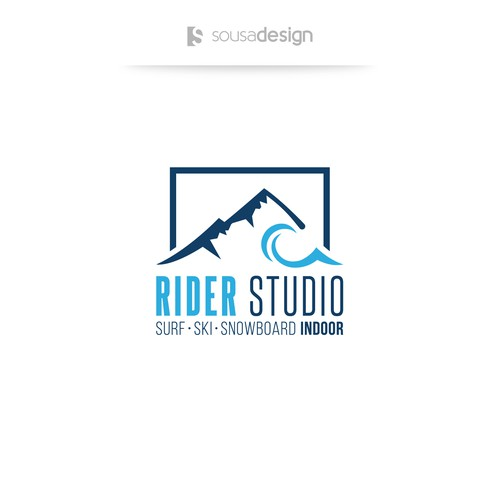 Logo for indoor radical sports company