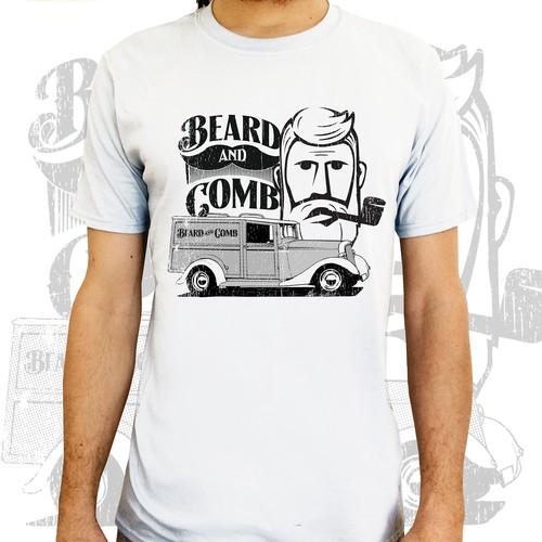 beard n comb old van