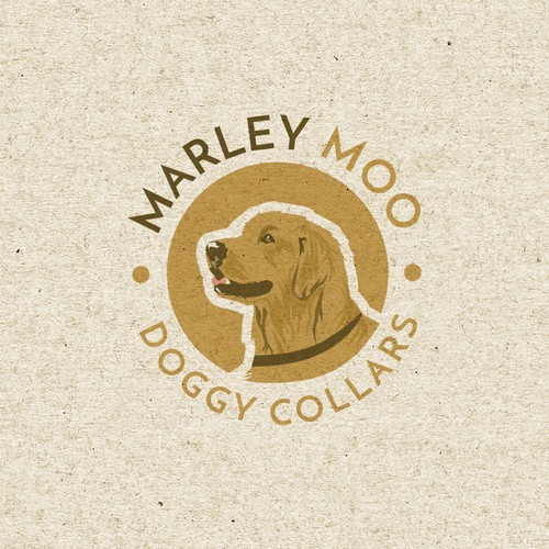 Logo design for Marley Moo Doggy Collars