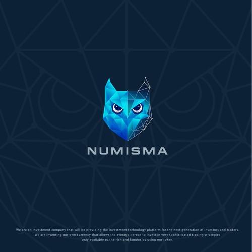 bold logo for numisma