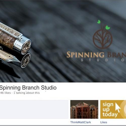 Facebook Banner for Ballpoint Brand