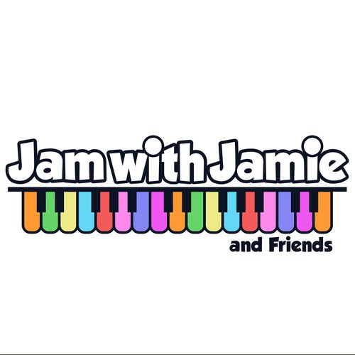 logo design for Jame with Jamie