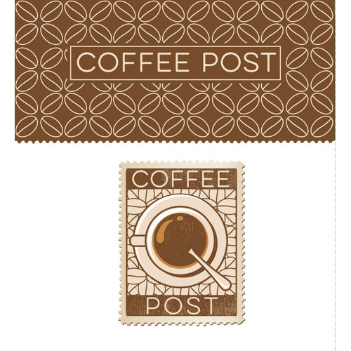 Logo for coffee post