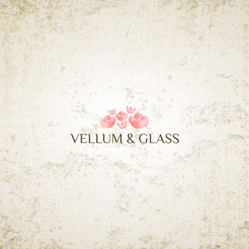 Vellum & Glass logo designs