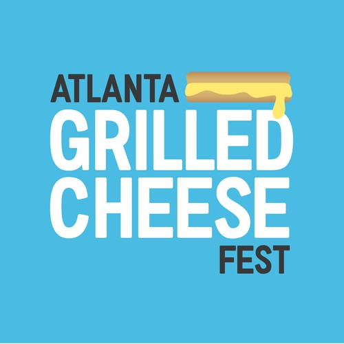 Logo for Grilled Cheese Festival in ATL