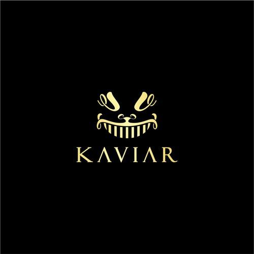 Kaviar logo concept.