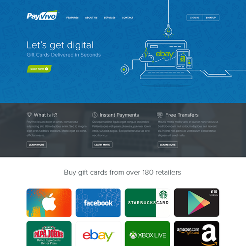 PayVivo,  $3000 Guaranteed,  Digital Gift Card Site
