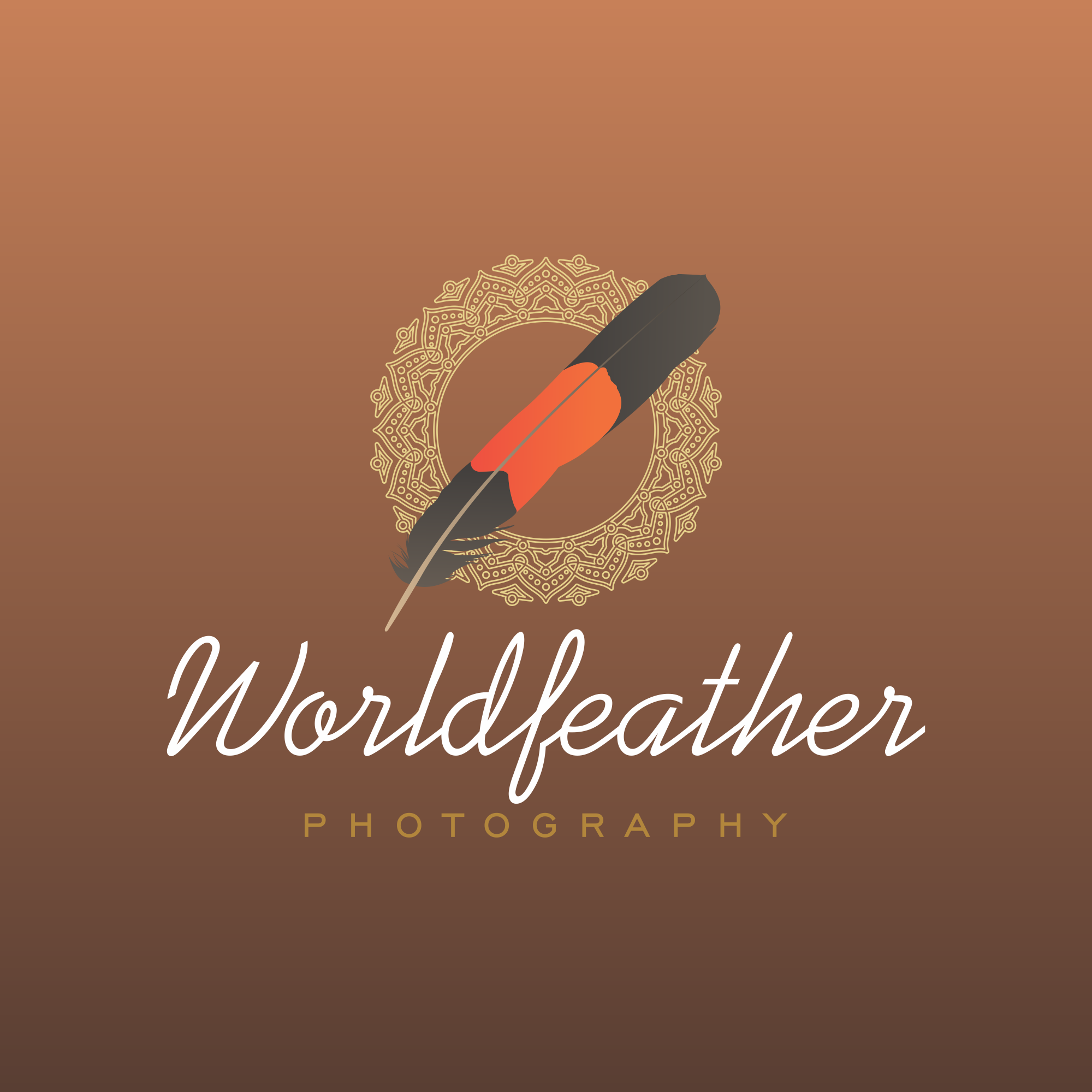 Elegant Earthy logo design for a portrait photographer who enjoys soulful moments captured in frame