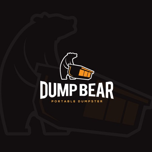 Clean Dumpster business logo