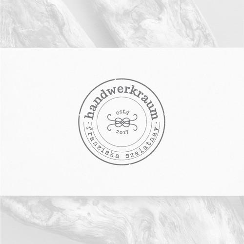 Handmade logo concept