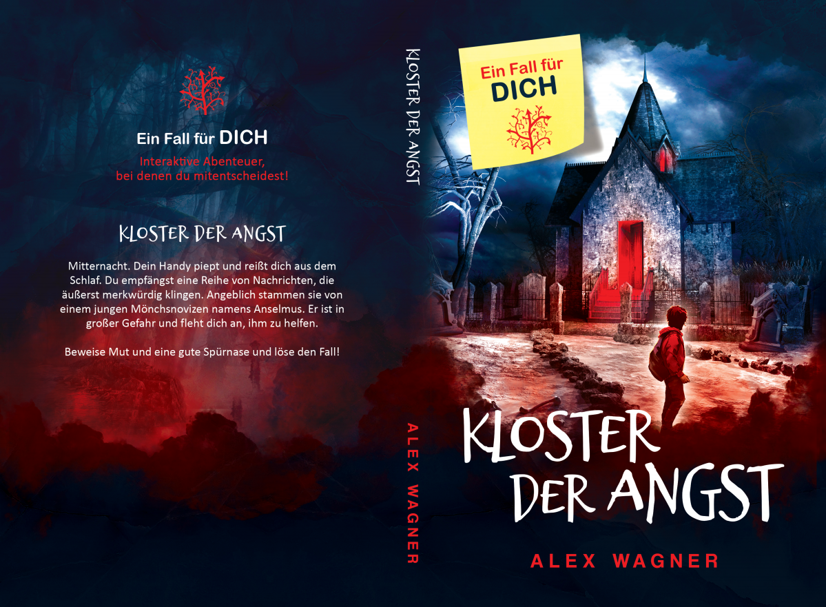 "Book Cover for ""Kloster der Angst"""