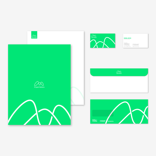 Stationery Design for Impact Matters